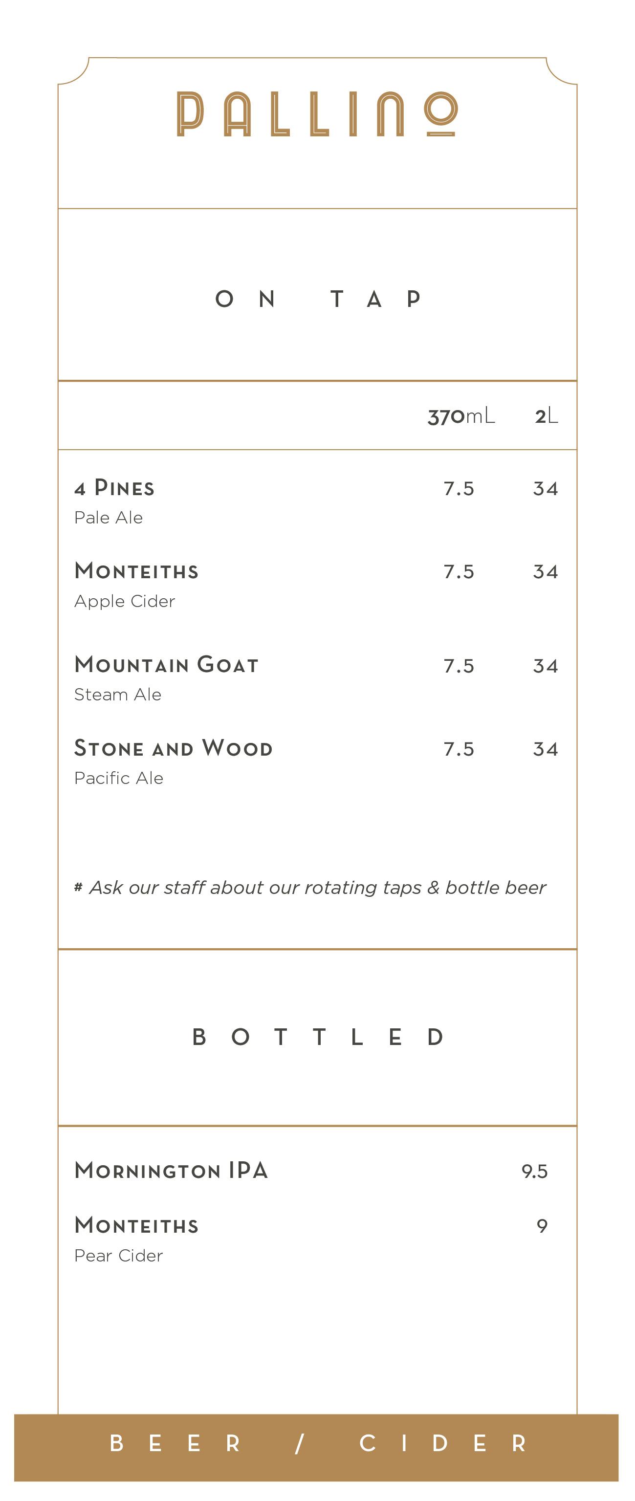Pallino-Menu-Beer-Cider
